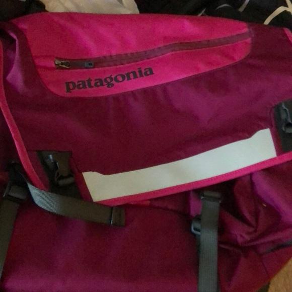 Patagonia Handbags - Pink Patagonia messenger bag